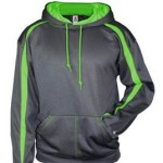 Badger Fusion hoodie – carbon-lime