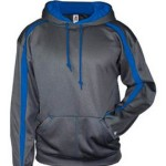 Badger Fusion hoodie – carbon-royal