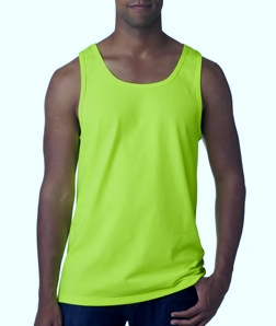 Men's tanktop Safety Green