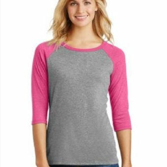 district-baseball-shirt-women-grey-frost-fuscia-frost-front-blank