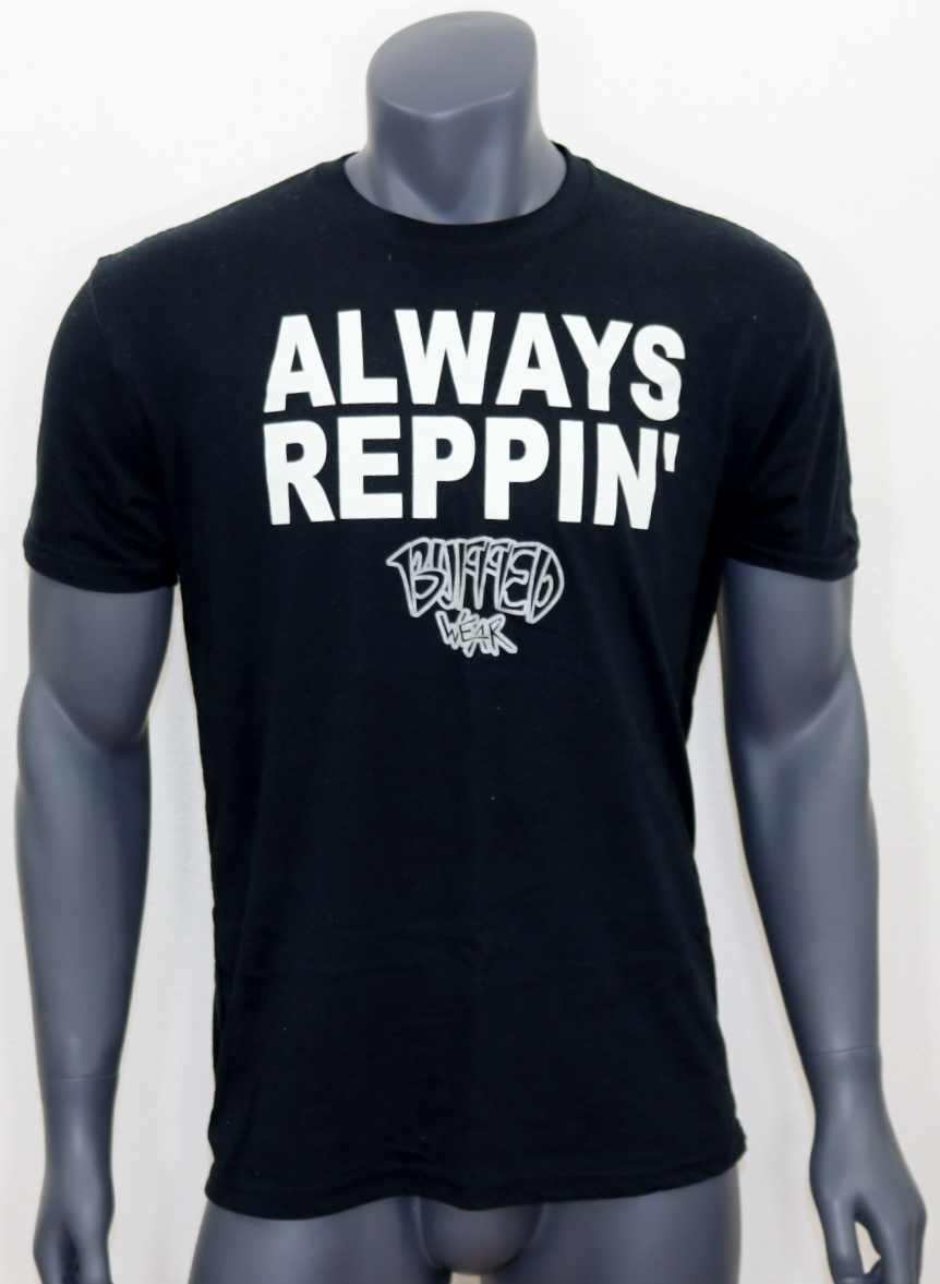 8d35a3f1 Men's Always Reppin' BuffedWear tee, tank, or muscle shirt - BuffedWear