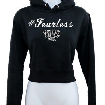 Crop-top-hoodie-Black-Fearless