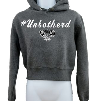 Crop-top-hoodie-Charcoal-Unbothered