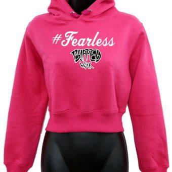 Crop-top-hoodie-Pink-Fearless