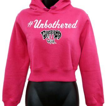 Crop-top-hoodie-Pink-Unbothered