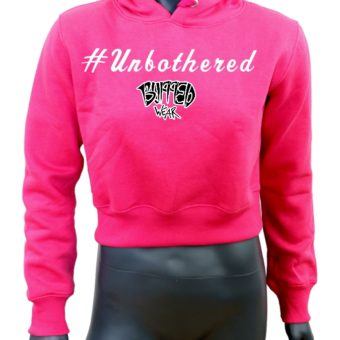 Crop-top-hoodie-Pink-Unbothered-Mannequin