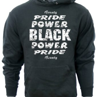 Black Power Pride Beauty-BlackSweatshirt-man
