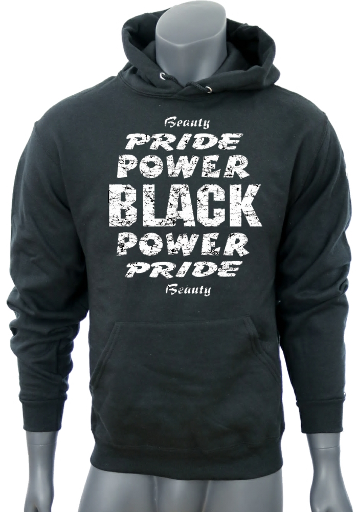 f7407e68 Unisex 'BLACK PRIDE' Heavyweight Sweatshirt - BuffedWear