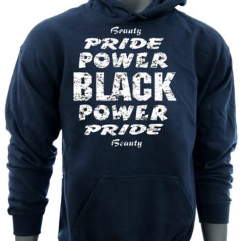 Black Power Pride Beauty-NavySweatshirt-man