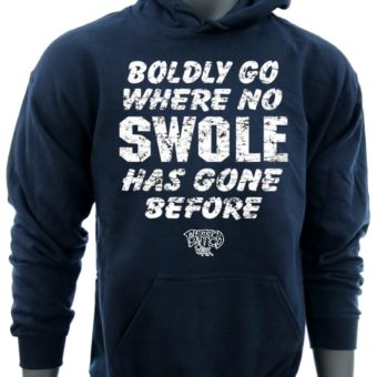 Boldly Go Where No SWOLE Has Gone Before-Navy-Sweaatshirt-men