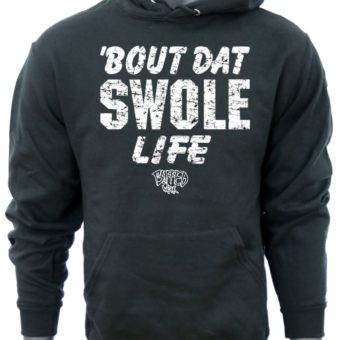 Bout Dat Swole Life-Black-Sweatshirt-men