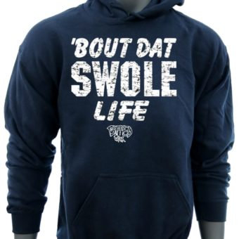 Bout Dat Swole Life-Navy-Sweatshirt-men