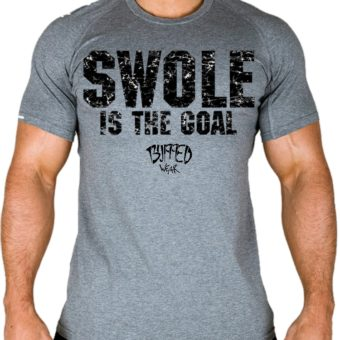 Man-SWOLE Is The Goal-t-shirt-black