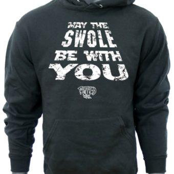 May The SWOLE Be With You-Black-Sweatshirt-Men