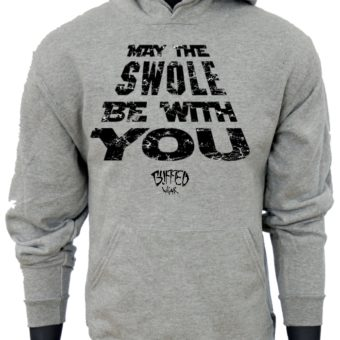 May The SWOLE Be With You-Gray-Sweatshirt-Men