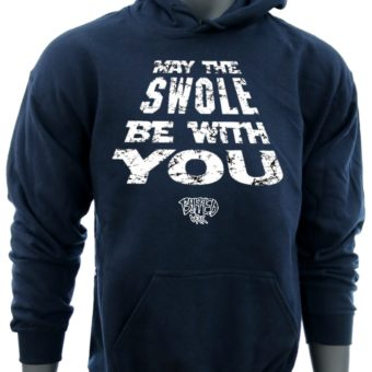 May The SWOLE Be With You-Navy-Sweatshirt-Men