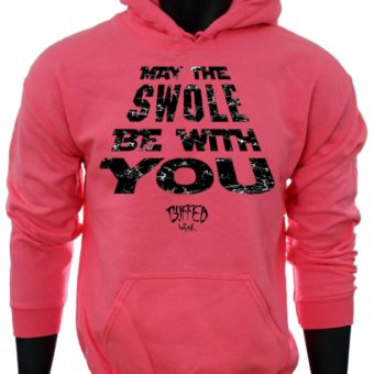May The SWOLE Be With You-Pink-Sweatshirt-Men