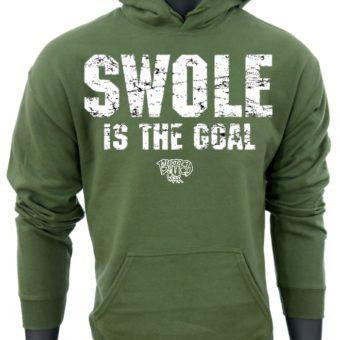 SWOLE Is The Goal-Green-Sweatshirt-men2