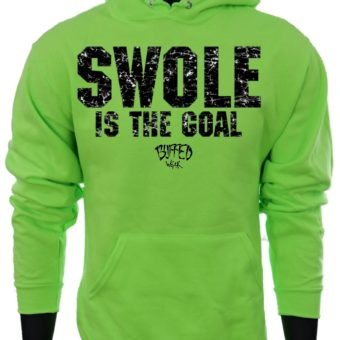 SWOLE Is The Goal-NeonGreen-Sweatshirt-men2