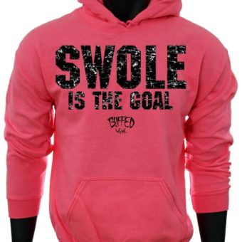SWOLE Is The Goal-Pink-Sweatshirt-men
