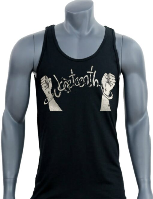 Juneteenth Men's Black Tank | Buffed Wear